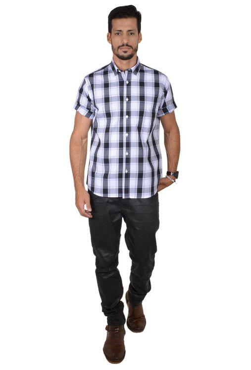Camisa-casual-masculina-tradicional-algodao-fio-50-preto-f04371a-1