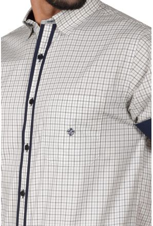 Camisa-casual-masculina-tradicional-algodao-fio-50-cinza-f01412a-3