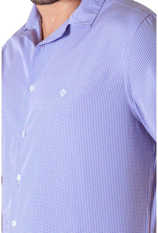 Camisa-casual-masculina-tradicional-algodao-fio-60-azul-medio-f01506a-3