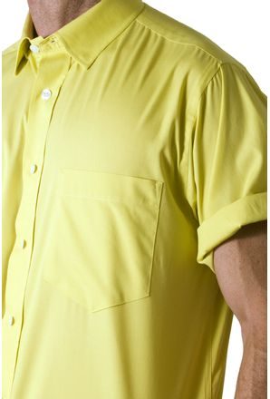Camisa-social-masculina-tradicional-algodao-fio-40-amarelo-f09903a-3