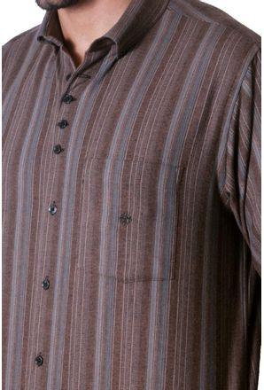 Camisa-casual-masculina-tradicional-flanela-bege-f01100a-3