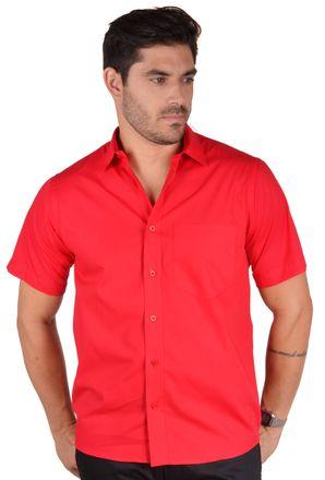 Camisa-social-masculina-tradicional-algodao-fio-40-vermelho-f09903a-1