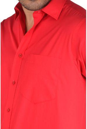 Camisa-social-masculina-tradicional-algodao-fio-40-vermelho-f09903a-3