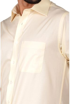 Camisa-social-masculina-tradicional-algodao-misto-amarelo-f05130a-3