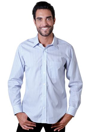 Camisa-casual-masculina-tradicional-algodao-fio-80-azul-f00161a-1