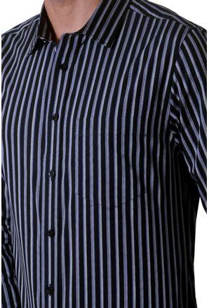Camisa-casual-masculina-slim-algodao-fio-50-cinza-f00486s-3