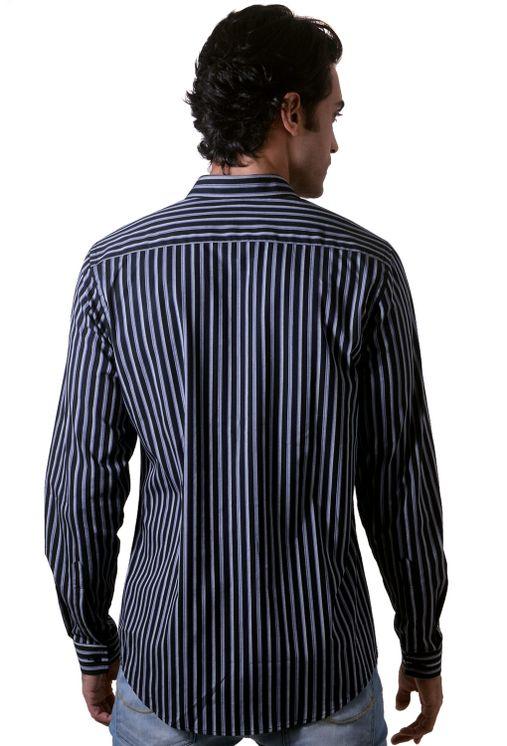 Camisa-casual-masculina-slim-algodao-fio-50-cinza-f00486s-1