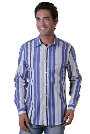 Camisa-casual-masculina-slim-algodao-fio-50-azul-f00470s-1