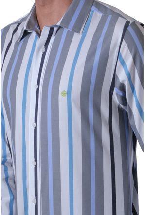Camisa-casual-masculina-slim-algodao-fio-50-cinza-f00470s-3