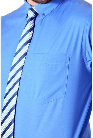 Camisa-social-masculina-tradicional-algodao-misto-azul-f09993a-3
