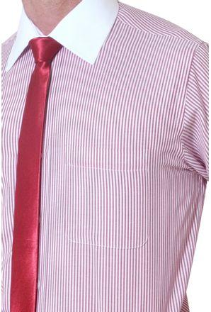 Camisa-social-masculina-tradicional-algodao-misto-vermelho-f05820a-3