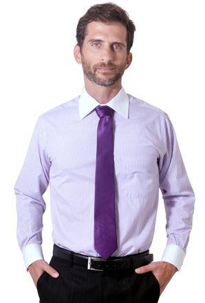 Camisa-social-masculina-tradicional-algodao-misto-lilas-f05820a-1