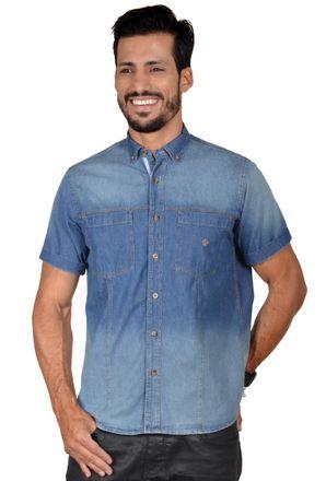 Camisa-casual-masculina-tradicional-jeans-azul-f01601a-1