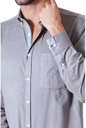 Camisa-casual-masculina-tradicional-veludo-cinza-f01517a-3