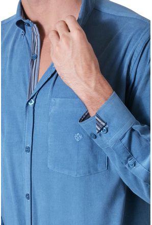 Camisa-casual-masculina-tradicional-veludo-azul-f01517a-3
