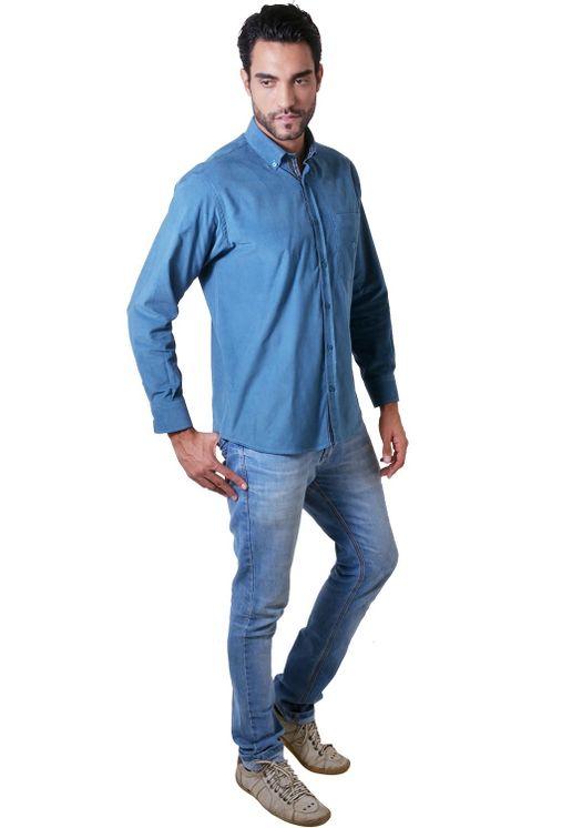 Camisa-casual-masculina-tradicional-veludo-azul-f01517a-4