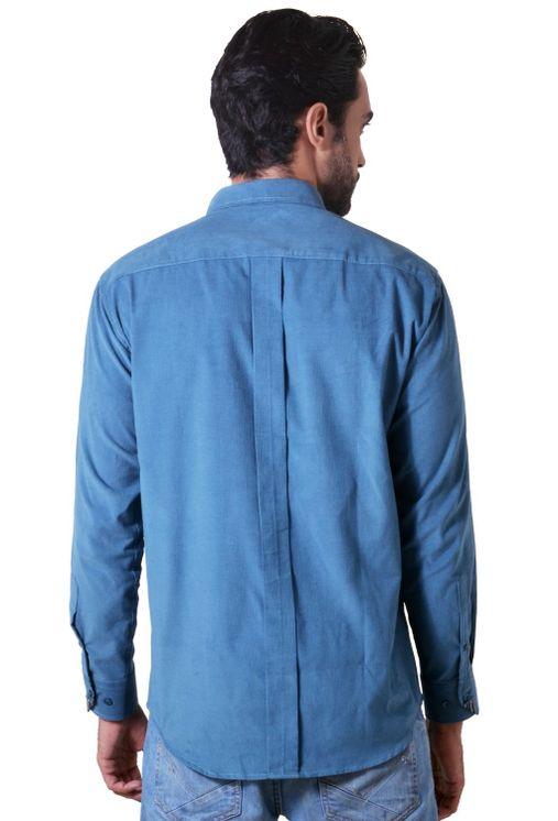 Camisa-casual-masculina-tradicional-veludo-azul-f01517a-2