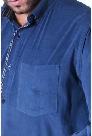 Camisa-casual-masculina-tradicional-veludo-azul-escuro-f01529a-3