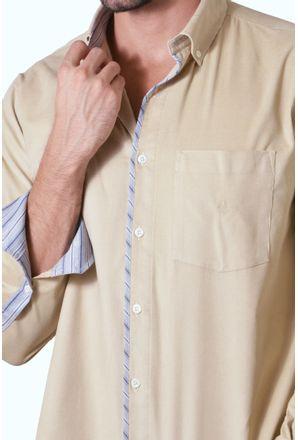 Camisa-casual-masculina-tradicional-veludo-bege-f01529a-3