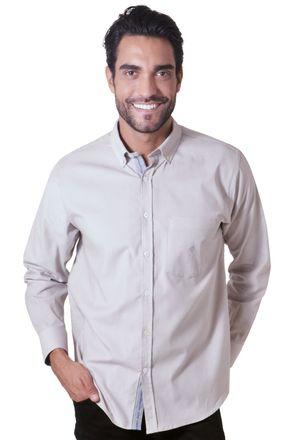 Camisa-casual-masculina-tradicional-veludo-bege-f01517a-1