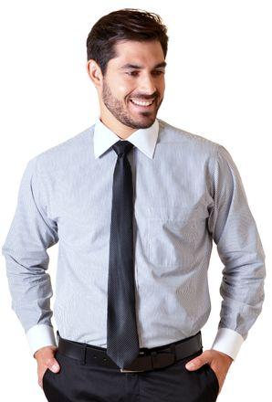Camisa-social-masculina-tradicional-algodao-fio-50-grafite-f02780a-1