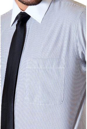 Camisa-social-masculina-tradicional-algodao-fio-50-grafite-f02780a-3