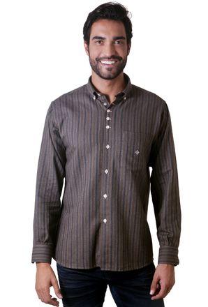 Camisa-casual-masculina-tradicional-flanela-marrom-f05633a-1