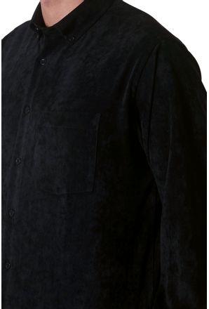 Camisa-casual-masculina-tradicional-veludo-molhado-preto-f05691a-3