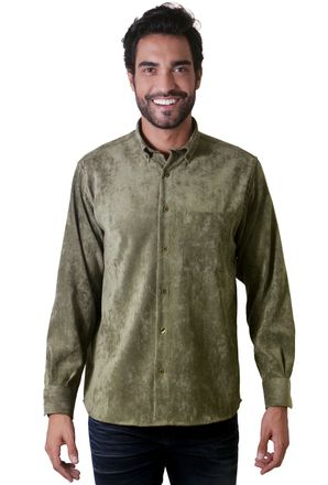 Camisa-casual-masculina-tradicional-veludo-molhado-verde-f05691a-1