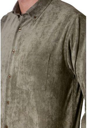 Camisa-casual-masculina-tradicional-veludo-molhado-verde-f05691a-3