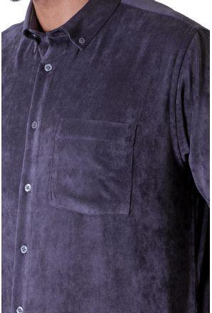 Camisa-casual-masculina-tradicional-veludo-molhado-grafite-f05691a-3