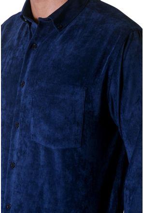 Camisa-casual-masculina-tradicional-veludo-molhado-azul-escuro-f05691a-3