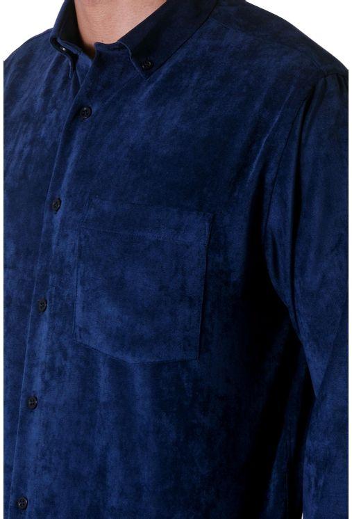 Camisa-casual-masculina-tradicional-veludo-molhado-azul-escuro-f05691a-1