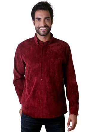 Camisa-casual-masculina-tradicional-veludo-molhado-bordo-f05691a-01-1