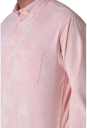 Camisa-casual-masculina-tradicional-veludo-molhado-salmao-f05691a-3