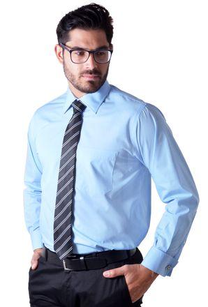 Camisa-social-masculina-tradicional-abotoadura-azul-claro-f02065a-1