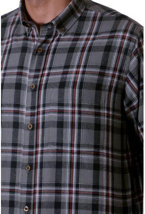 Camisa-casual-masculina-tradicional-flanela-grafite-f05689a-3