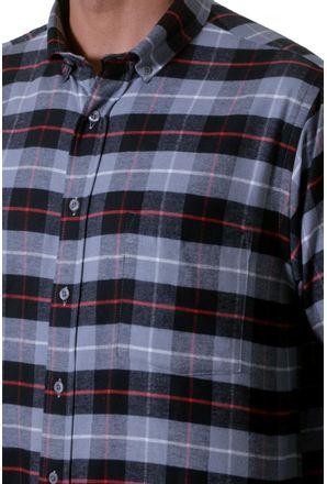 Camisa-casual-masculina-tradicional-flanela-cinza-f05689a-3