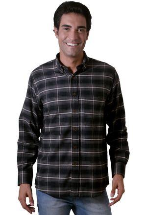 Camisa-casual-masculina-tradicional-flanela-grafite-f05690a-1