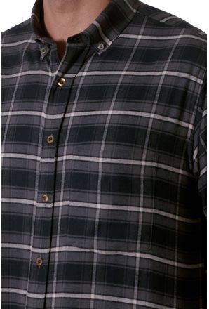 Camisa-casual-masculina-tradicional-flanela-grafite-f05690a-3
