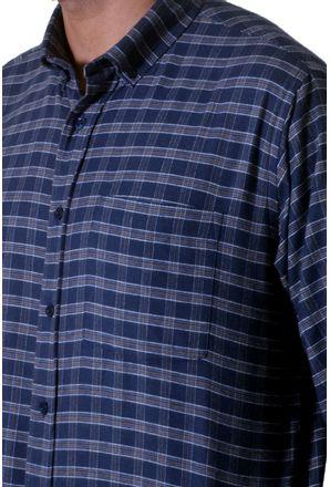 Camisa-casual-masculina-tradicional-flanela-azul-f05689a-3
