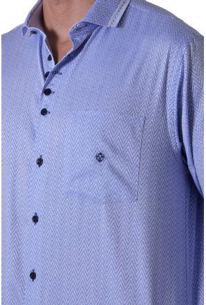 Camisa-casual-masculina-tradicional-algodao-fio-100-azul-f00962a-3