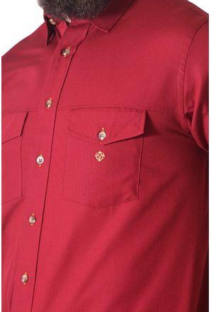 Camisa-casual-masculina-tradicional-sarjada-bordo-f01681a-3