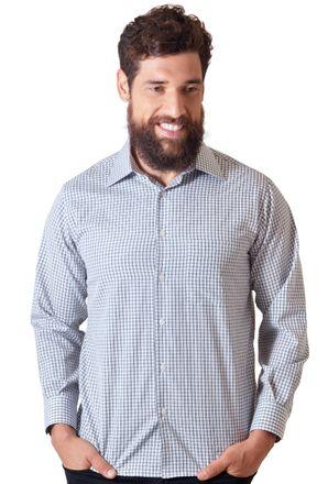 Camisa-casual-masculina-tradicional-algodao-preto-f05695a-1