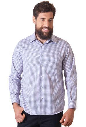 Camisa-casual-masculina-tradicional-algodao-roxo-f05695a-1