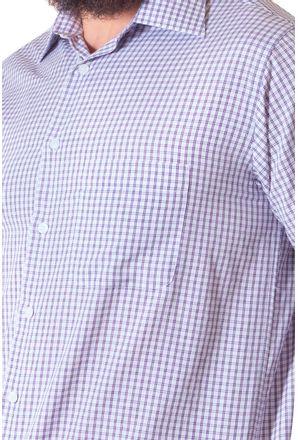 Camisa-casual-masculina-tradicional-algodao-roxo-f05695a-3