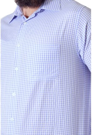 Camisa-casual-masculina-tradicional-algodao-azul-escuro-f05695a-3