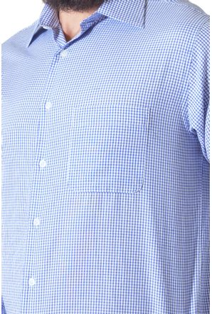 Camisa-casual-masculina-tradicional-algodao-azul-escuro-f05698a-3