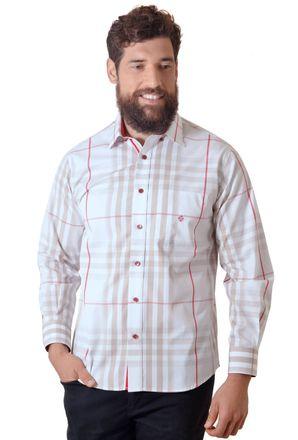 Camisa-casual-masculina-tradicional-fio-50-vermelho-f01740a-1