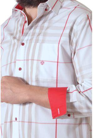 Camisa-casual-masculina-tradicional-fio-50-vermelho-f01740a-3